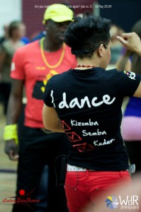 T-shirt Kizomba MaNi I Dance
