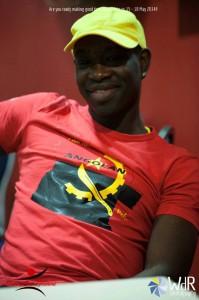 T-shirt Kizomba MaNi rood