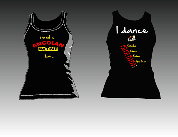 Kizomba MaNi shirts native tanktop women