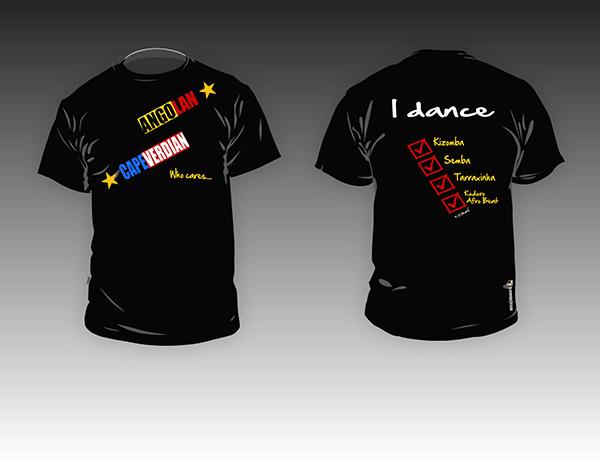 Kizomba MaNi T-shirt Who cares